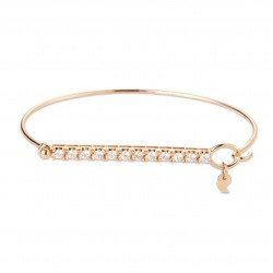 CERVERA TWISTED PINK GOLD BRACELET