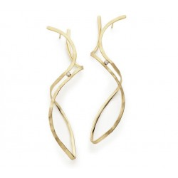 H.STERN OSCAR NIEMEYER EARRINGS