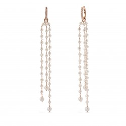 CERVERA PEARL & DIAMONDS EARRINGS