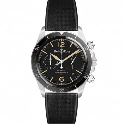 BELL & ROSS BR V2-94 STEEL HERITAGE 41 MM