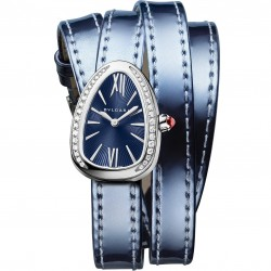 BULGARI SERPENTI SKIN BLUE DIAMONDS 27MM