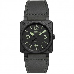 BELL & ROSS AVIATION BR03-92 NIGHTLUM 42MM