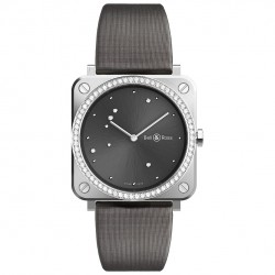 BELL & ROSS BR S GREY DIAMOND EAGLE 39MM