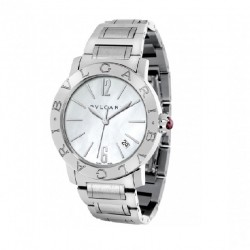 BULGARI BULGARI 33MM MOTHER OF PEARL