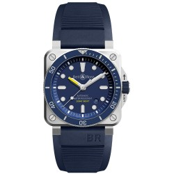 BELL & ROSS BR 03-92 DIVER BLUE 42MM