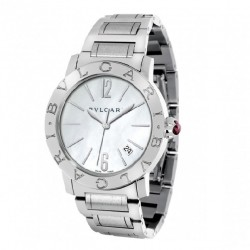BULGARI-BULGARI 37MM MOTHER OF PEARL