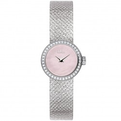 D DE DIOR MINI 19MM PINK DIAMONDS