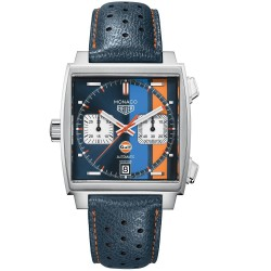 TAG HEUER MONACO GULF SPECIAL EDITION 39MM