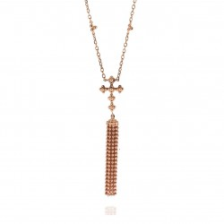 CARLA AMORIM CROSS NECKLACE