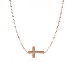 CARLA AMORIM CROSS NECKLACE DIAMONDS