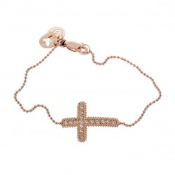 CARLA AMORIM CROSS BRACELET DIAMONDS
