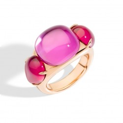 POMELLATO ROUGE PASSION ANELLO