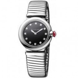 BULGARI LUCEA 28MM BLACK DIAL