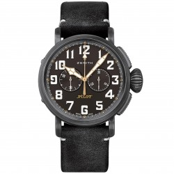 ZENITH PILOT TYPE 20 TON-UP 45MM BLACK