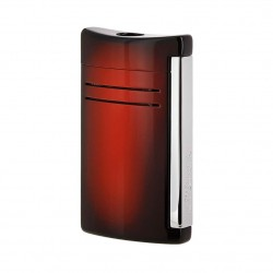S.T DUPONT BRIQUET MAXIJET SUNBURST MARRON CHROME