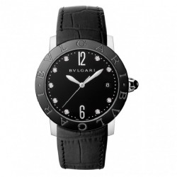 BULGARI BULGARI 37MM BLACK DIAMONDS